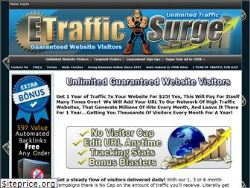 We Will Promote Your Site For 1 Year 24/7..eTrafficSurge.com