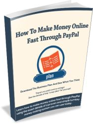How To Make Money Online Fast Through PayPal
