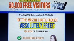 [50,000 Visitors] - No Cost Offer- A Mass Of Traffic