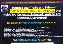 Get OVER 500,000 FREE Advertising Credits - PLUS 30,000 Solo