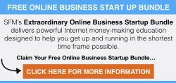 ENJOY $350 WORTH OF ONLINE BUSINESS STARTUP TRAINING FREE!