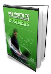 Learn How To Have An Online Business In One Month