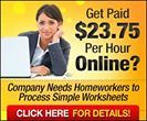 $23/Hour Working At Home!